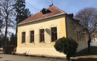 ŠZŠ oprava fasády Rimavská Sobota
